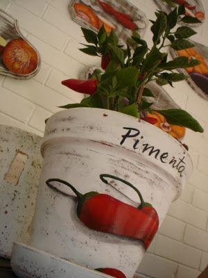 Argina Seixas: pimentas