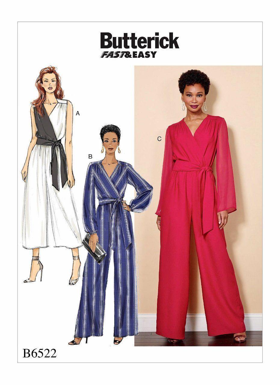 13a1d9285d9a Sewing Pattern Misses Jumpsuit Pattern
