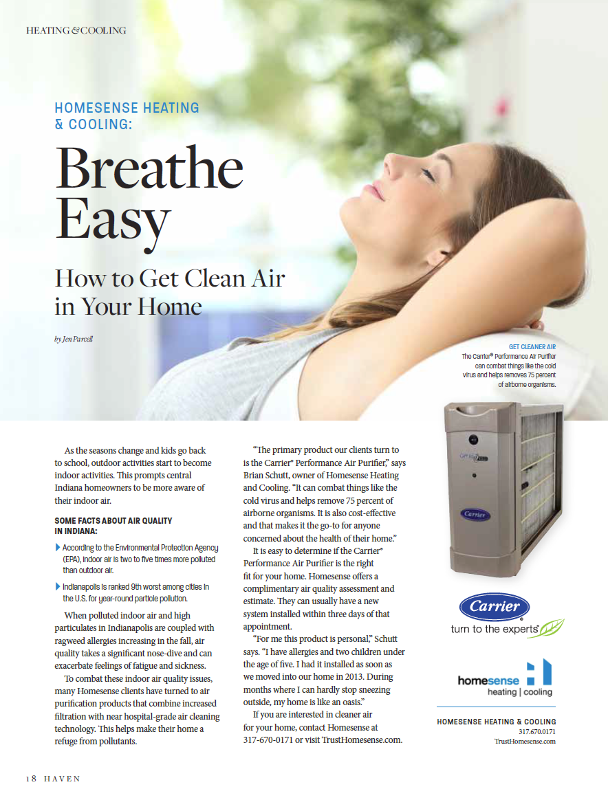 Homesense Heating Cooling Breathe Easy Breathe Easy Outdoor