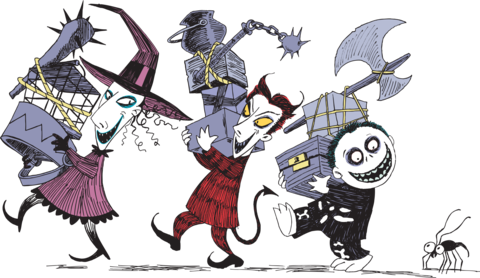 image result for nightmare before christmas characters - Nightmare Before Christmas Characters