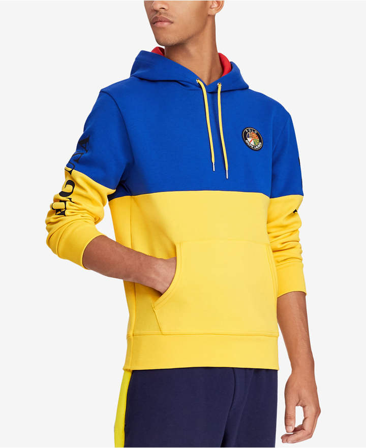 f4114469 Polo Ralph Lauren Downhill Skier Men's Double-Knit Hoodie ...