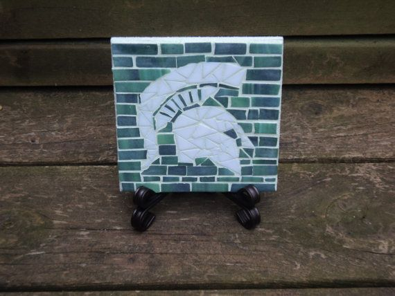 Msu Michigan State University Sparty Mosaic Tile Mosaic Mosaic Tiles Michigan State University