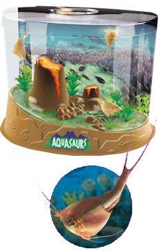 Aquasaurs Look Like Giant Sea Monkeys Cool Volcano Aquasaurs Kit Sea Monkeys Prehistoric Pets Collections Etc