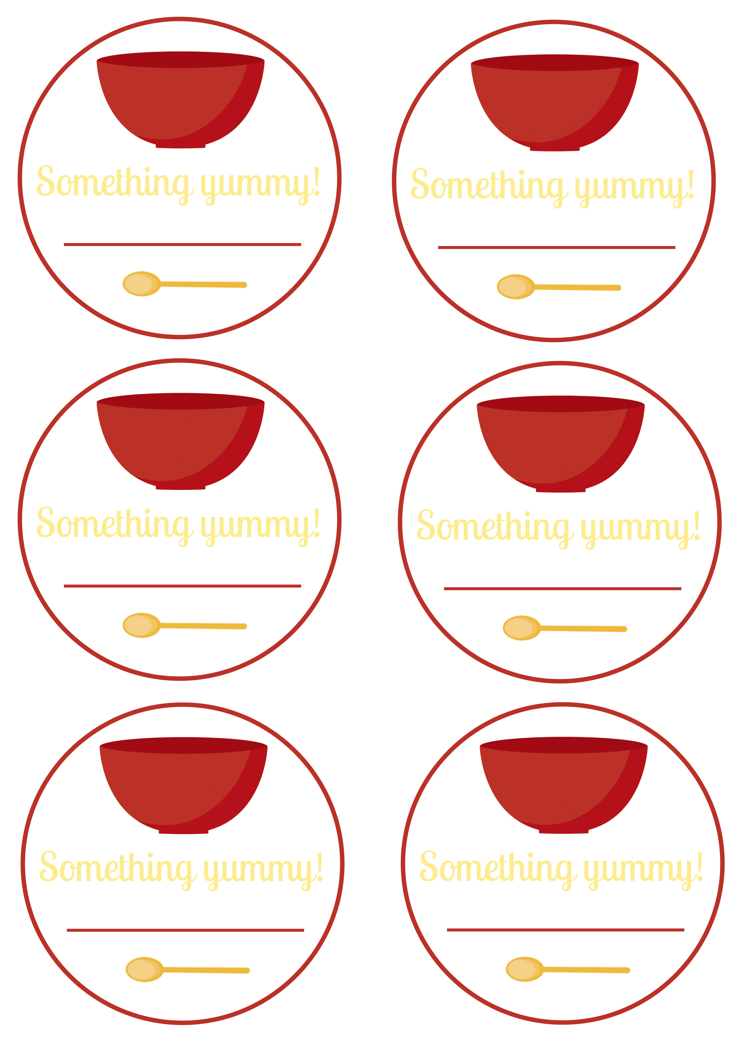 Free Printable Food Labels And Canning Labels
