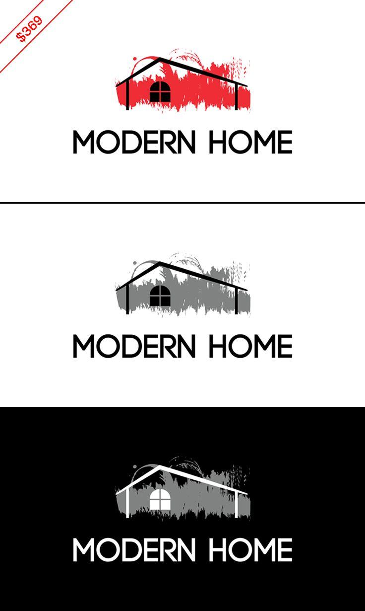 369 House Logo Interior Design Logo Real Estate Logo This Design Will Be Customi Home Renovation Companies Home Accessories Stores Interior Designer Logo