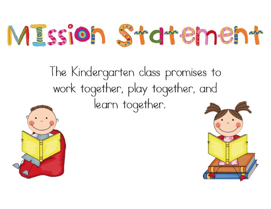 Mrs PauleyS Kindergarten Mission Statement  Goals  Classroom