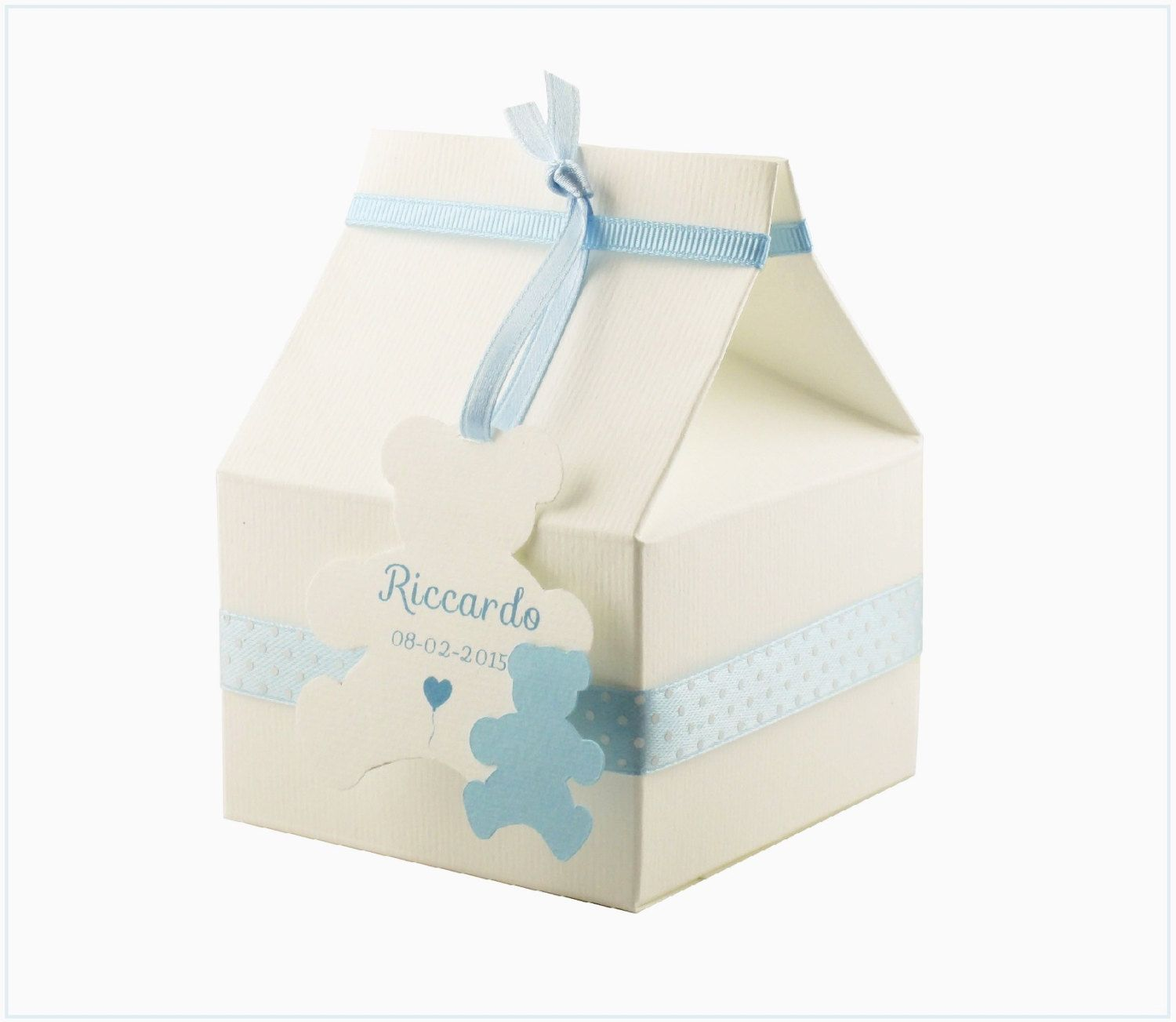 Boy Baby Shower Favor Boxes Set of 10 Boy Baby Shower Favors Baby ...