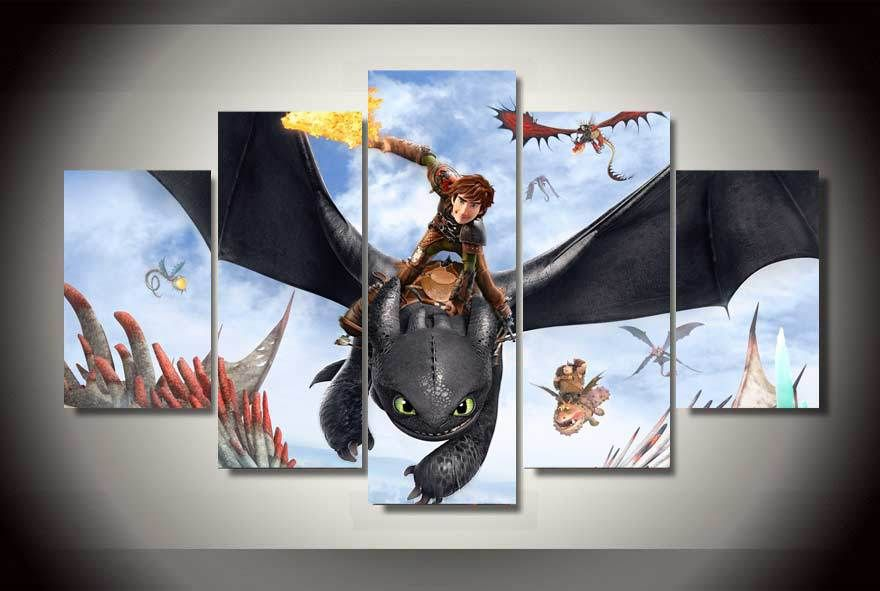 How To Train Your Dragon Bedroom Ideas