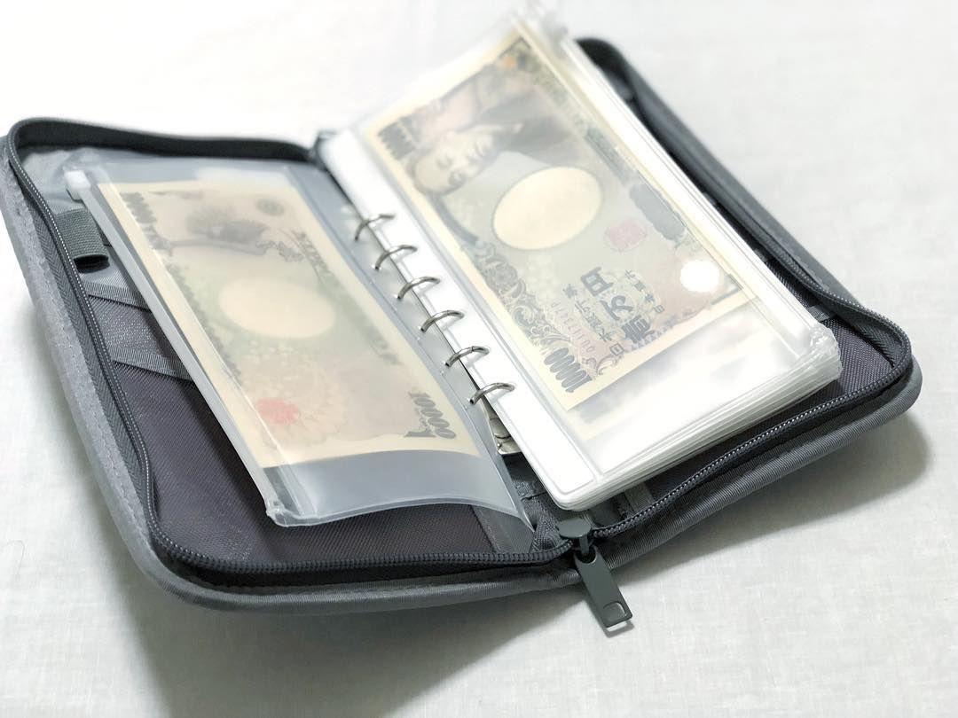 売り切れ続出!無印良品の「パスポートケース」で家計管理♡