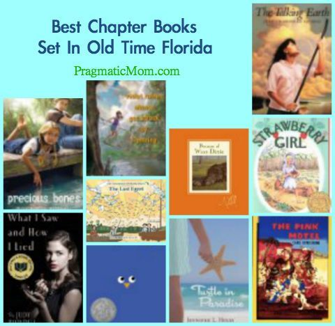 Great Chapter books set in Florida - fun read-alouds or novels for summer reading!