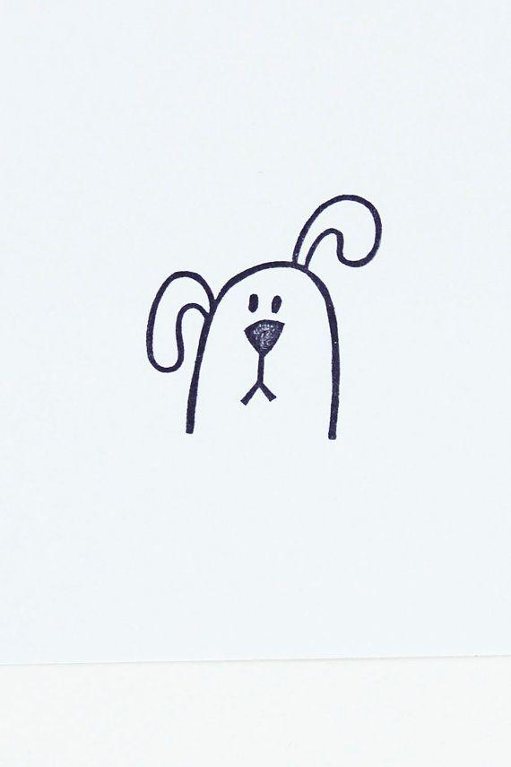 Haushundestempel, lustiger Haustierstempel für diy, kleiner Hundekopfstempel, handgemachter Stempel, Haustierbriefpapier, kleines Geburtstagsgeschenk #funnygifts