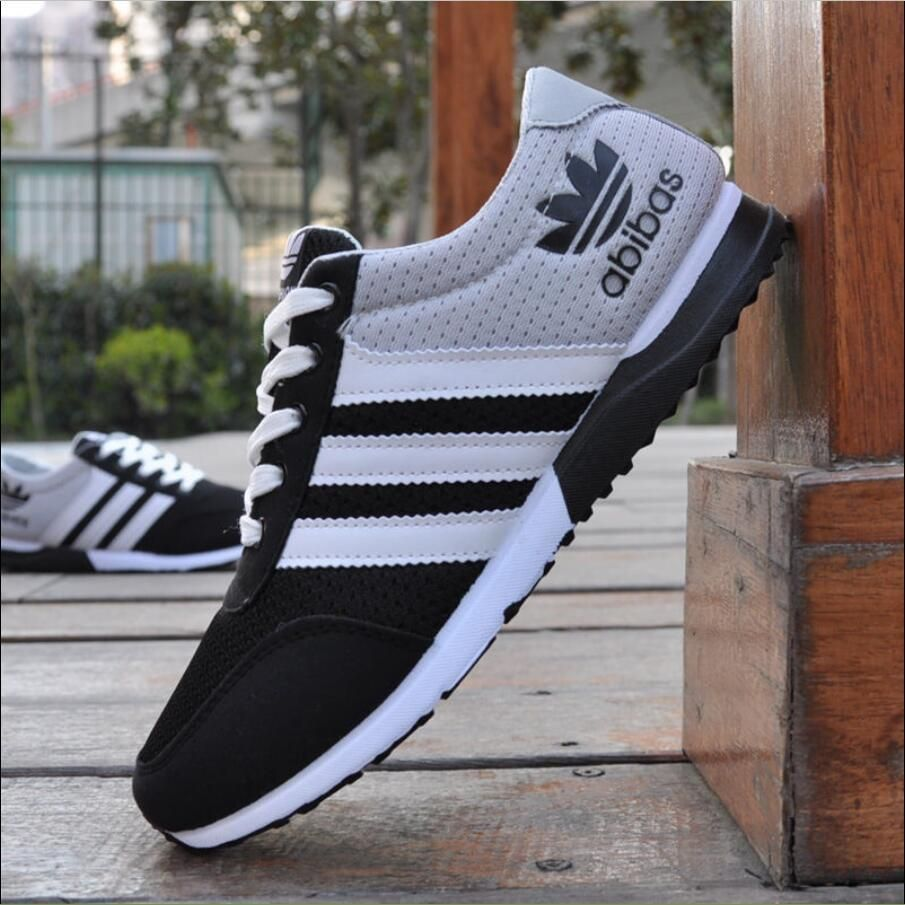 new mens sneakers canvas mesh fashion breathable