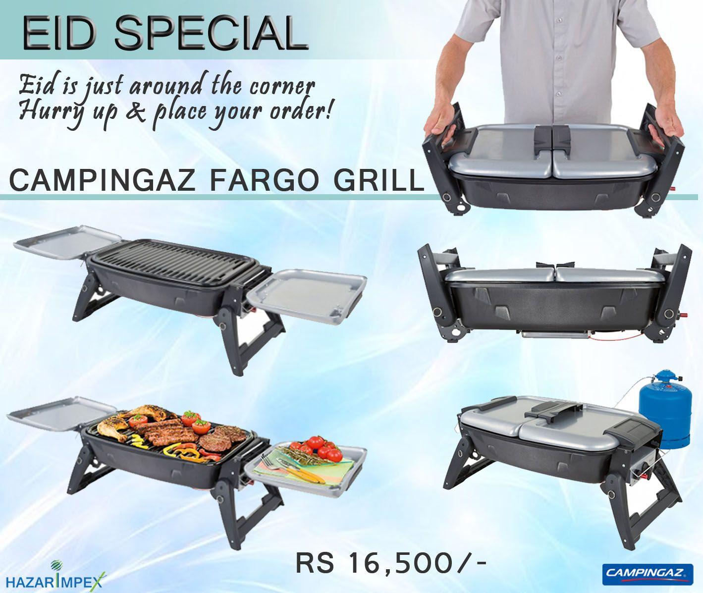 Campingaz Fargo Grill Rs 16,500/- Shop Online: http://shop.hazari ...