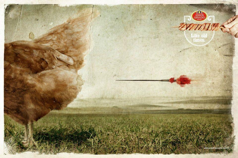 Spiedino di pollo - Assim Assado