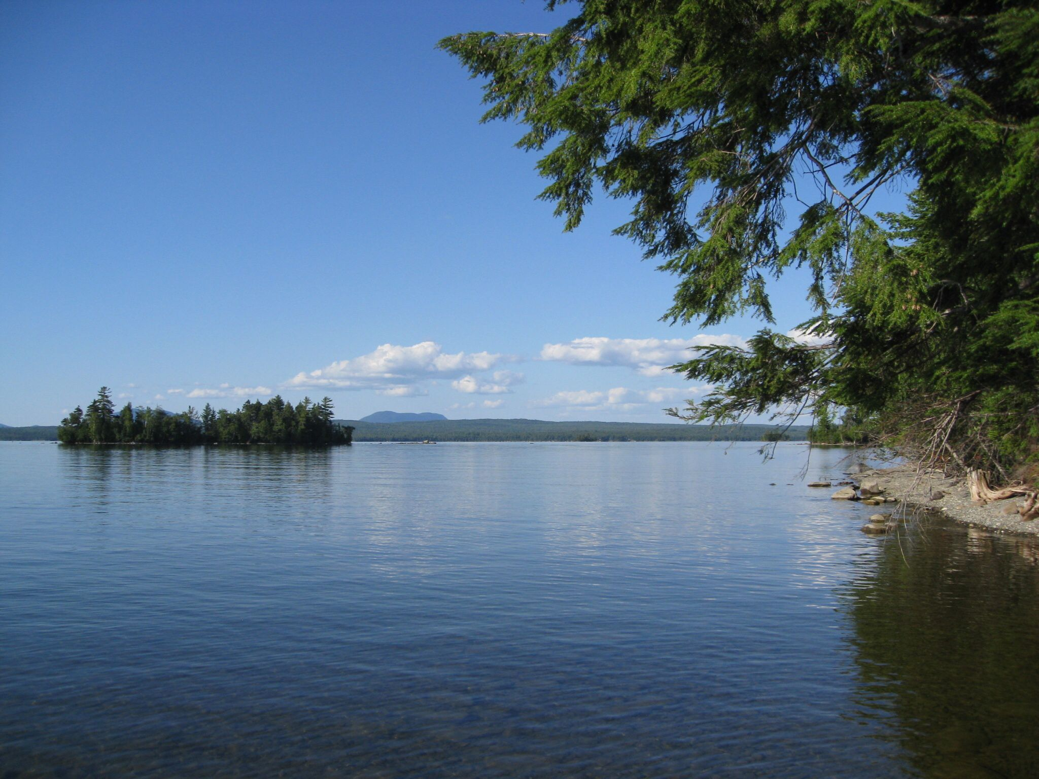 Lilly Bay State Park (Maine)   Maine   Northern maine, State parks on