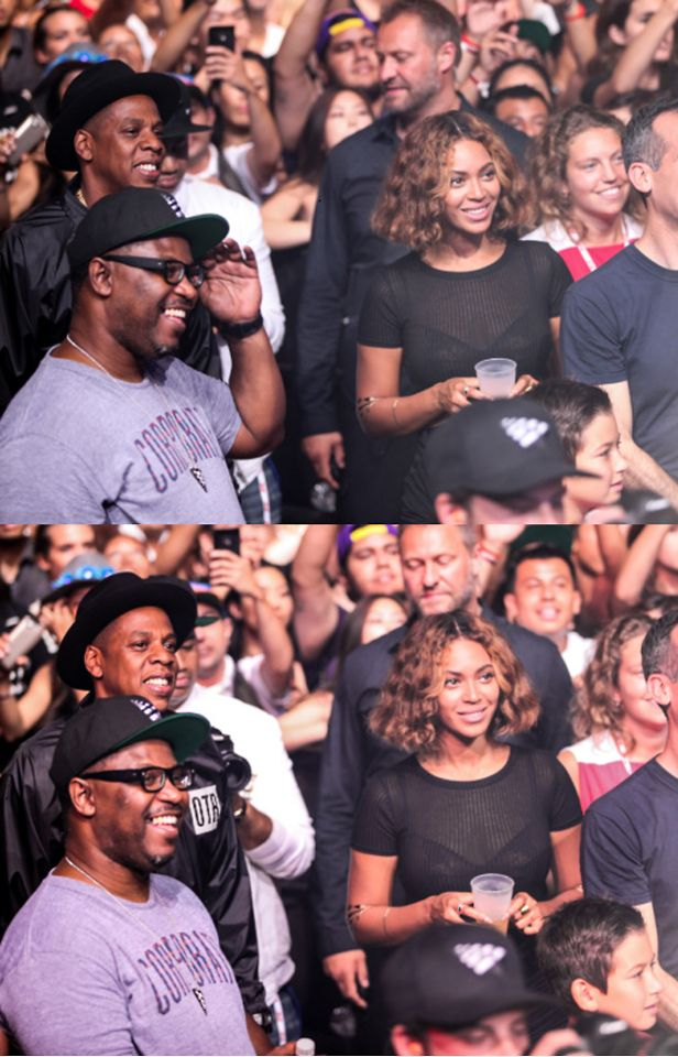Beyonce & Jay-Z - Made In America Festival August 31st, 2014