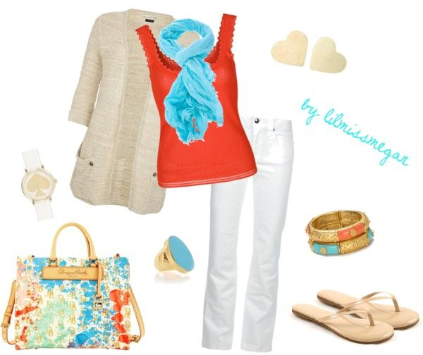 """sweet & breezy"" by lilmissmegan on Polyvore"