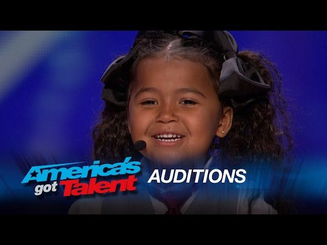 Heavenly Joy Wows The Crowd AT AGT With Her Singing and Tap Dance