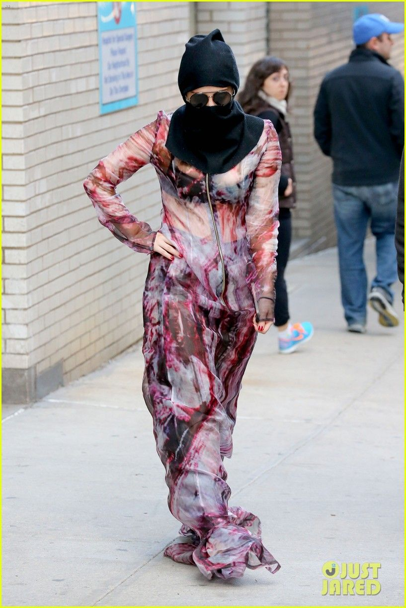 Image result for lady gaga wearing burqa