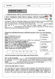 english - Resume Science 9eme Annee