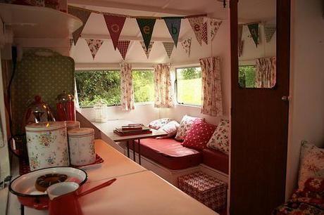 Idee Per Interni Roulotte : Vintage caravan camper pinterest case mobili mobili e case
