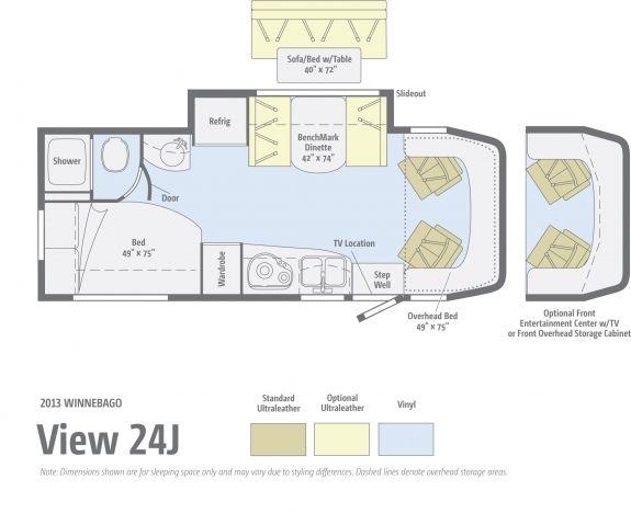 Winnebago View Winnebago View Floor Plans Rv Dealer
