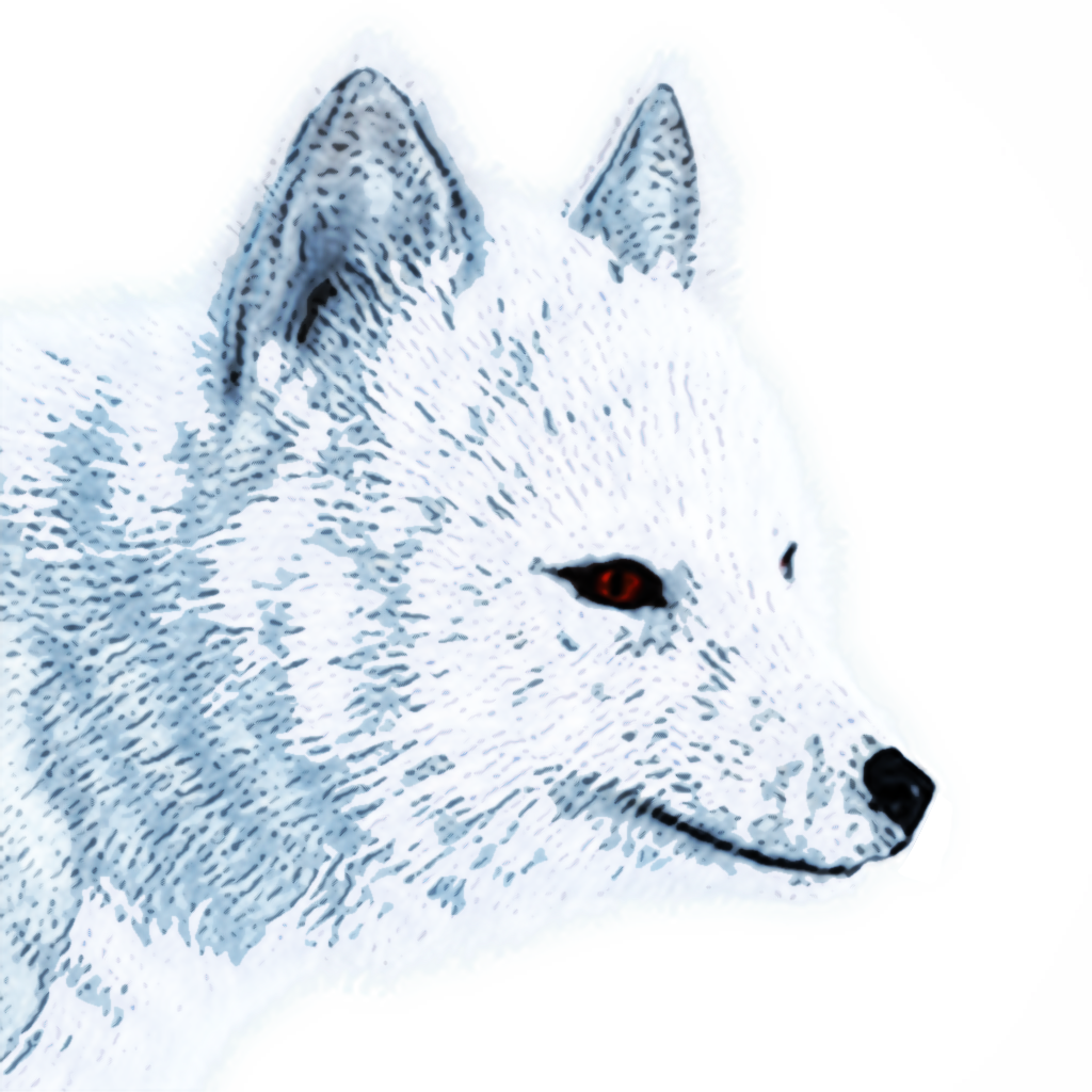 Arctic Fox Png Image With Transparent Background Png Images Arctic Fox Animal Categories