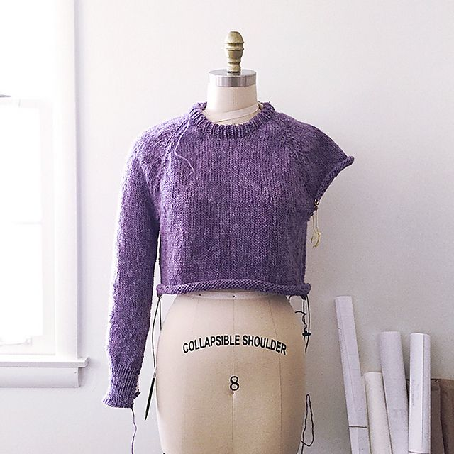 Knitting Sweater Tutorial : Ravelry improv pattern by karen templer knitting free