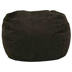 @Overstock - Comfortable and durable, this teardrop shaped BeanSack ultra chair has a microfiber cover and is filled with long-lasting polystyrene beans. This chair is perfect for lounging in any room.http://www.overstock.com/Home-Garden/BeanSack-Ultra-Black-Microfiber-Suede-Bean-Bag-Chair/6641518/product.html?CID=214117 $58.99