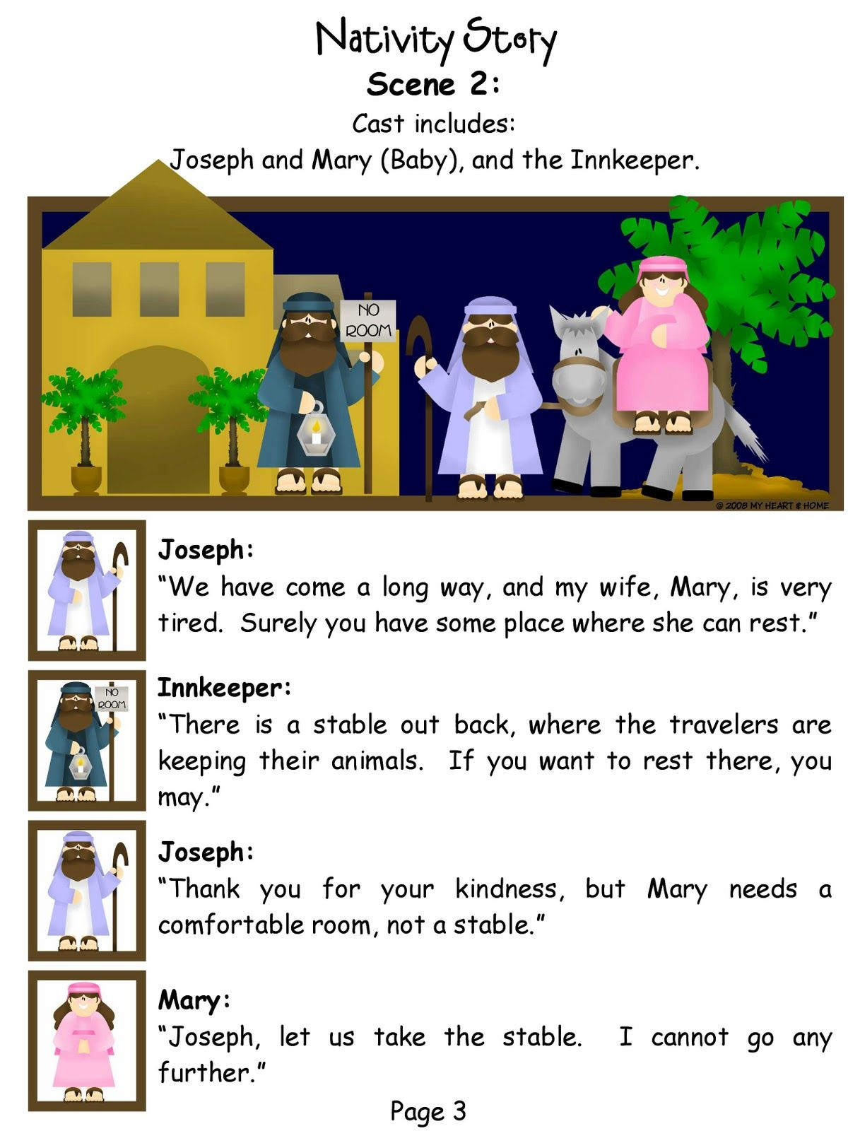 the nativity play!!! | christmas skits & poems | pinterest