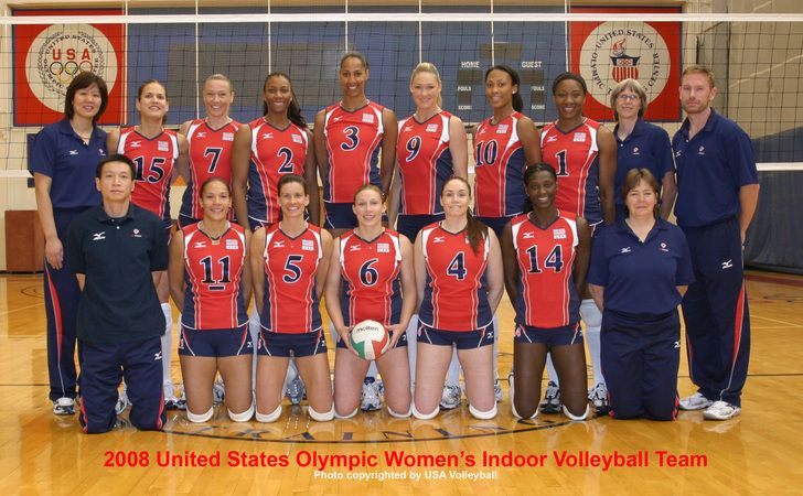 Watch The USA Womens Volleyball Team Play Brazil In 2008