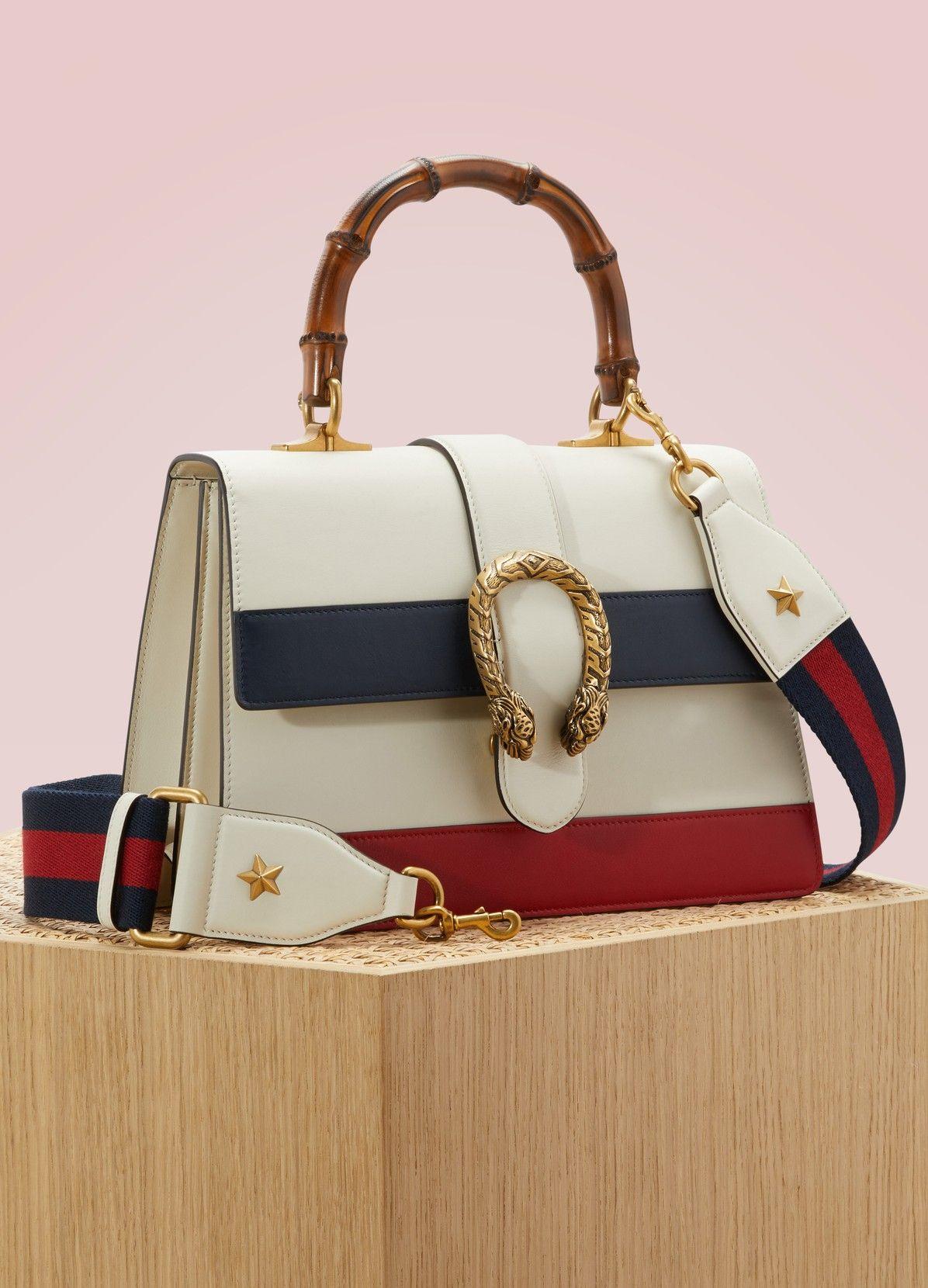 4d5f0f9ac GUCCI Dionysus Leather Handbag | Cores verão 2018/19 | Leather ...