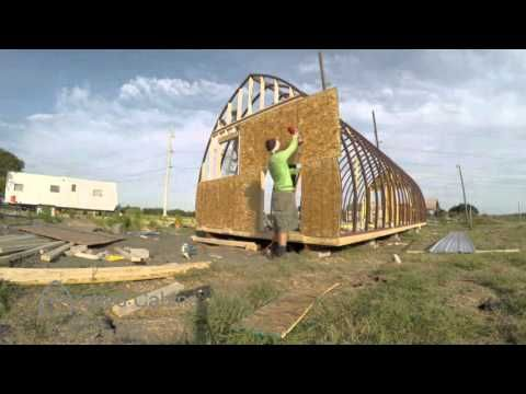 Custom Arched Cabins Built For Under 1000 Homestead