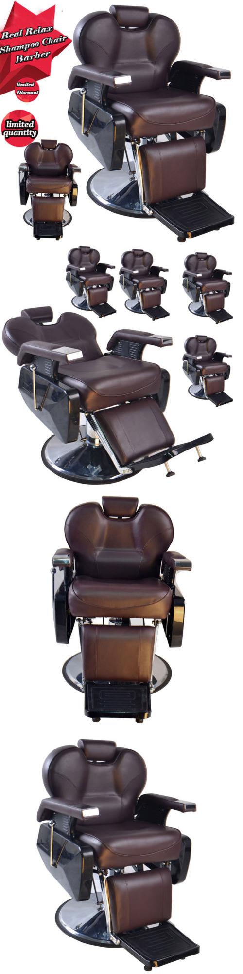 Elegant Stylist Stations And Furniture: Hot Barberpub Hydraulic Recline Salon  Beauty Spa Styling Barber Chair Equipment Design Ideas