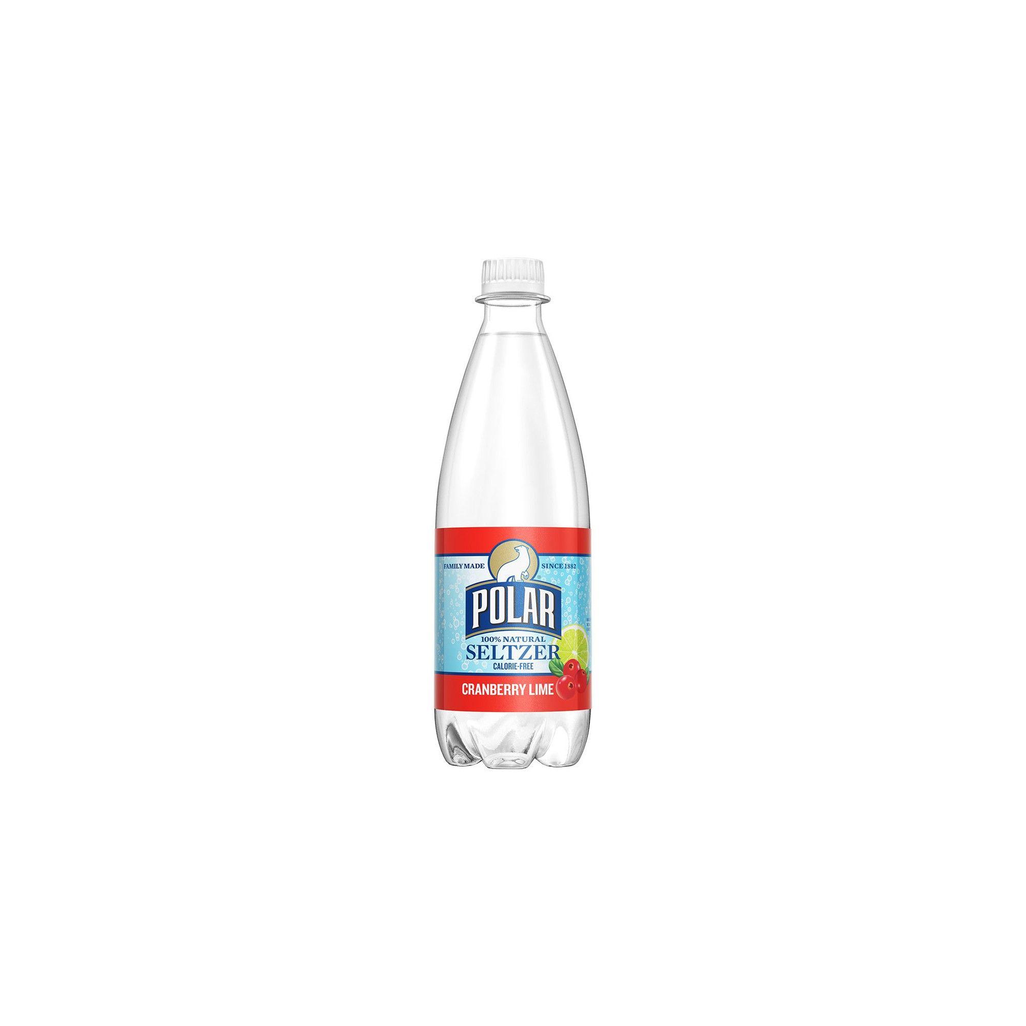 Polar Seltzer Water Cranberry Lime 20 Fl Oz Bottle In 2020 Seltzer Water Bottle Seltzer