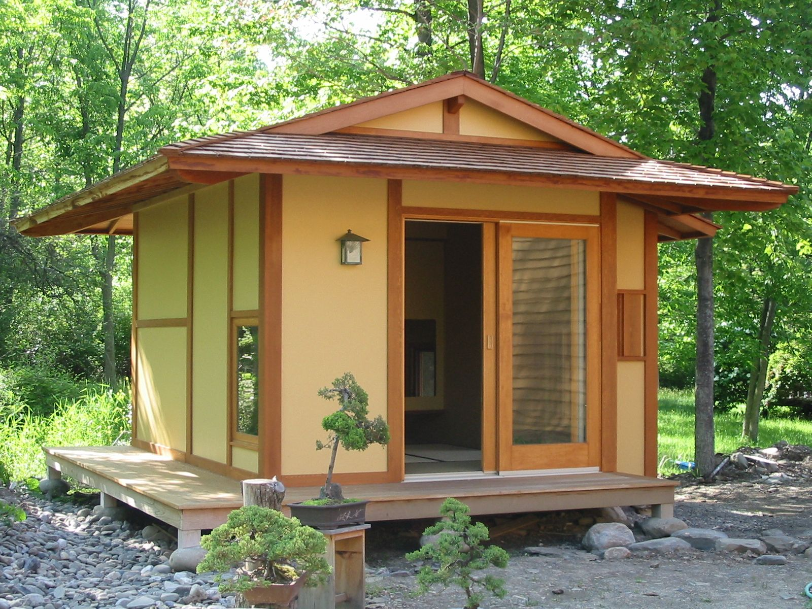 Pan Burlingham Tea House, Ithaca NY, USA, Designed By Shickel Architecture.