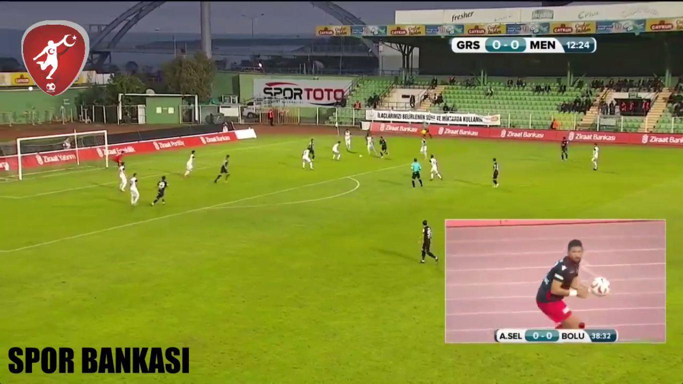 Giresunspor Menemen Belediyespor Mac Ozeti Izle Mac Izleme Futbol