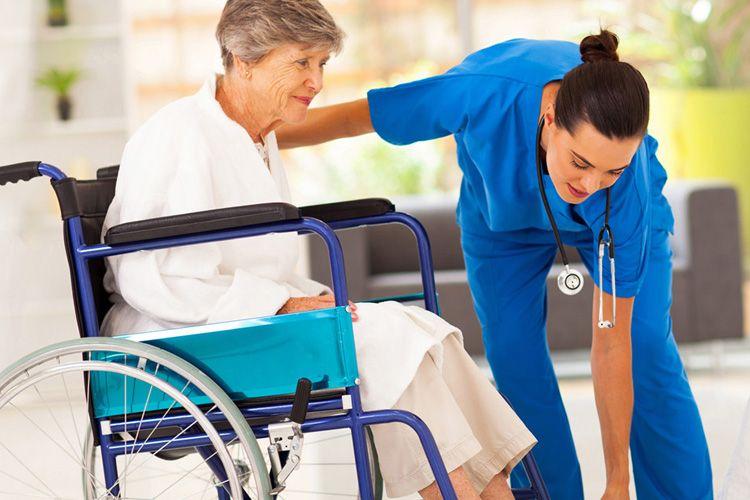 Home health care caregiver