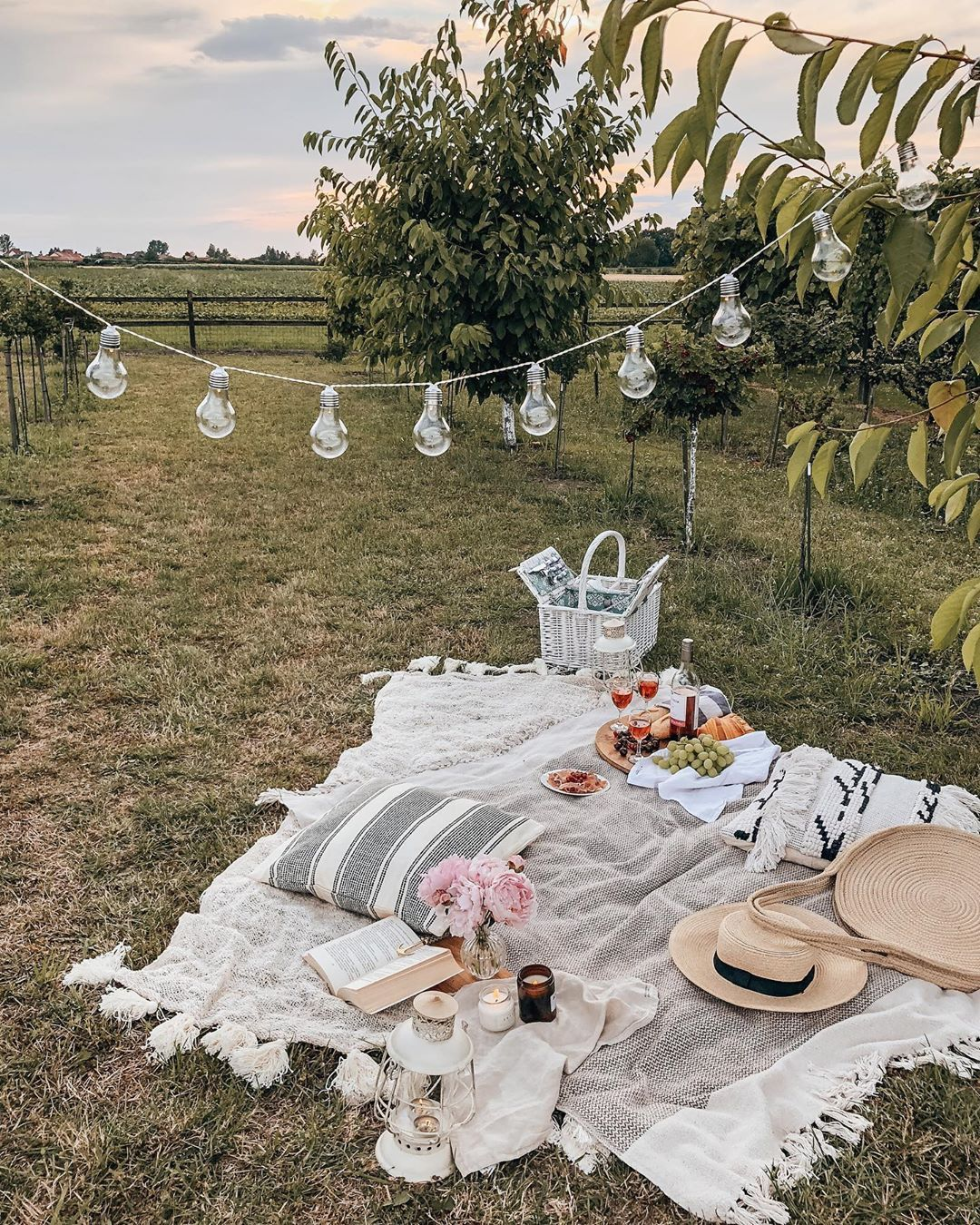 Summer 2020 isn't canceled! Three helpful tips to help you decorate your home for summer in the DecorMatters blog! Also, we love how @alabasterfox makes the most of what she has by decorating this stunning outdoor picnic 💛. Click the image to try our free home design app.  (Keywords: patio decor, patio ideas, backyard patio, dream home, home decor ideas, outdoor fireplace, outdoor patio ideas, DIY home decor, backyard patio decor, backyard garden, patio decorating ideas)