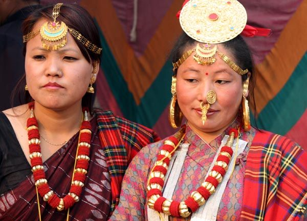 What is the traditional costume of Nepal?