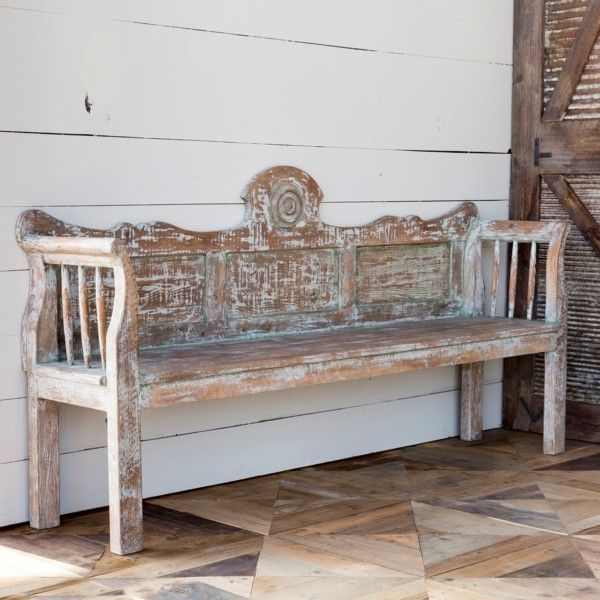 Magnificent Hollow Road Aged Bench In 2019 Farmhouse Furniture Uwap Interior Chair Design Uwaporg