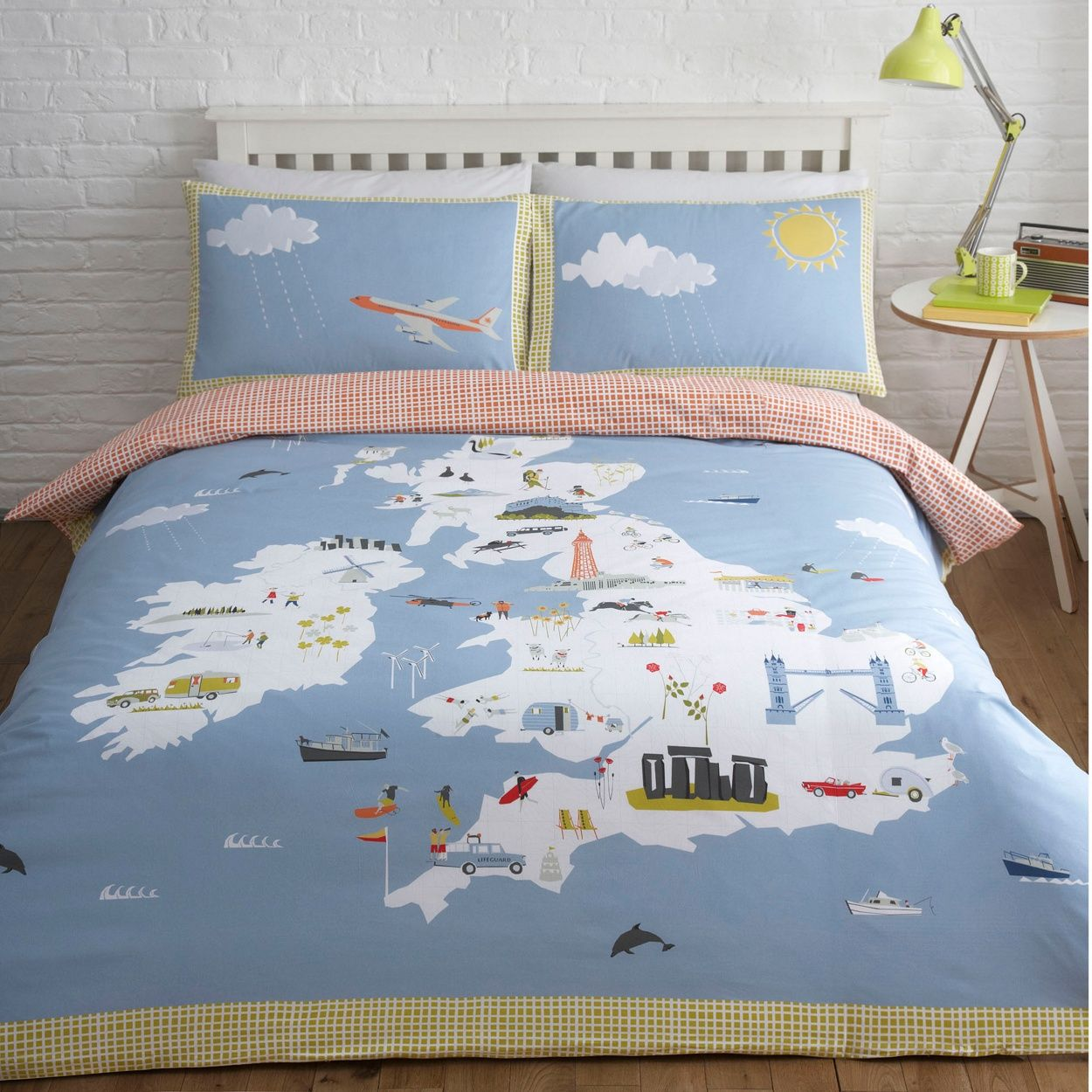 Yukari sweeneyedition blue british isles bedding set at yukari sweeneyedition blue british isles bedding set at debenhams gumiabroncs Image collections