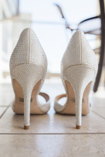 3113701192c0f7 Sparkly bridal shoe idea - white sparkly shoes  Town Country Studios