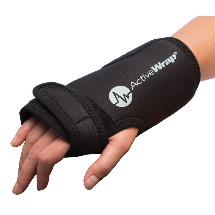 Ankle foot or wrist heat ice wrap activewrap cold
