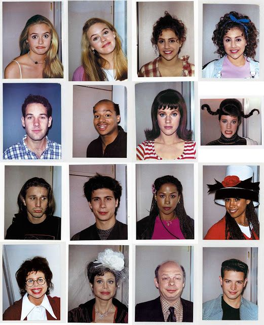 "Candid and Goofy Polaroids of the Cast of ""Clueless"" Taken by Makeup Supervisor Alan Friedman"