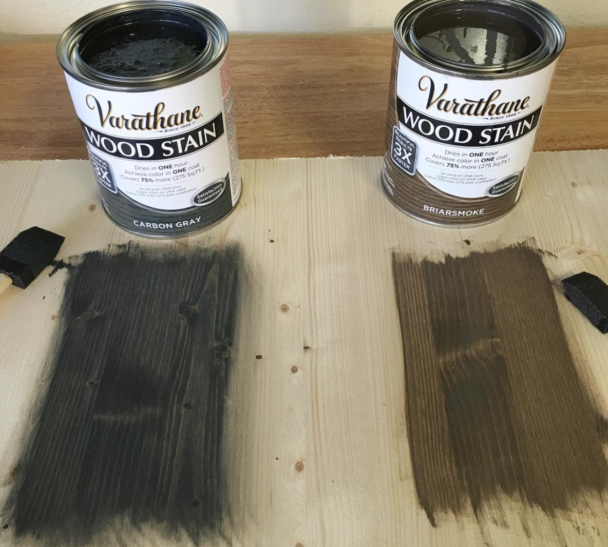The Perfect Grey Wood Stain: How To Stain Wood Video