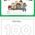 Here is another mini book to get your kiddos going. It's a great little keepsake for your kids to celebrate 100 days of school. They get to color p...
