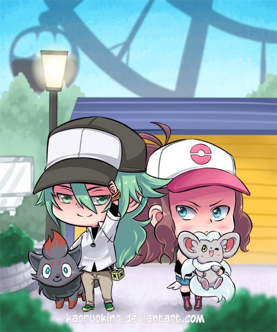 Pokemon Black and White by KaoruOkino