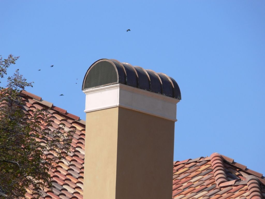 Copper Chimney Cap This Dome Shaped Chimney Cap With