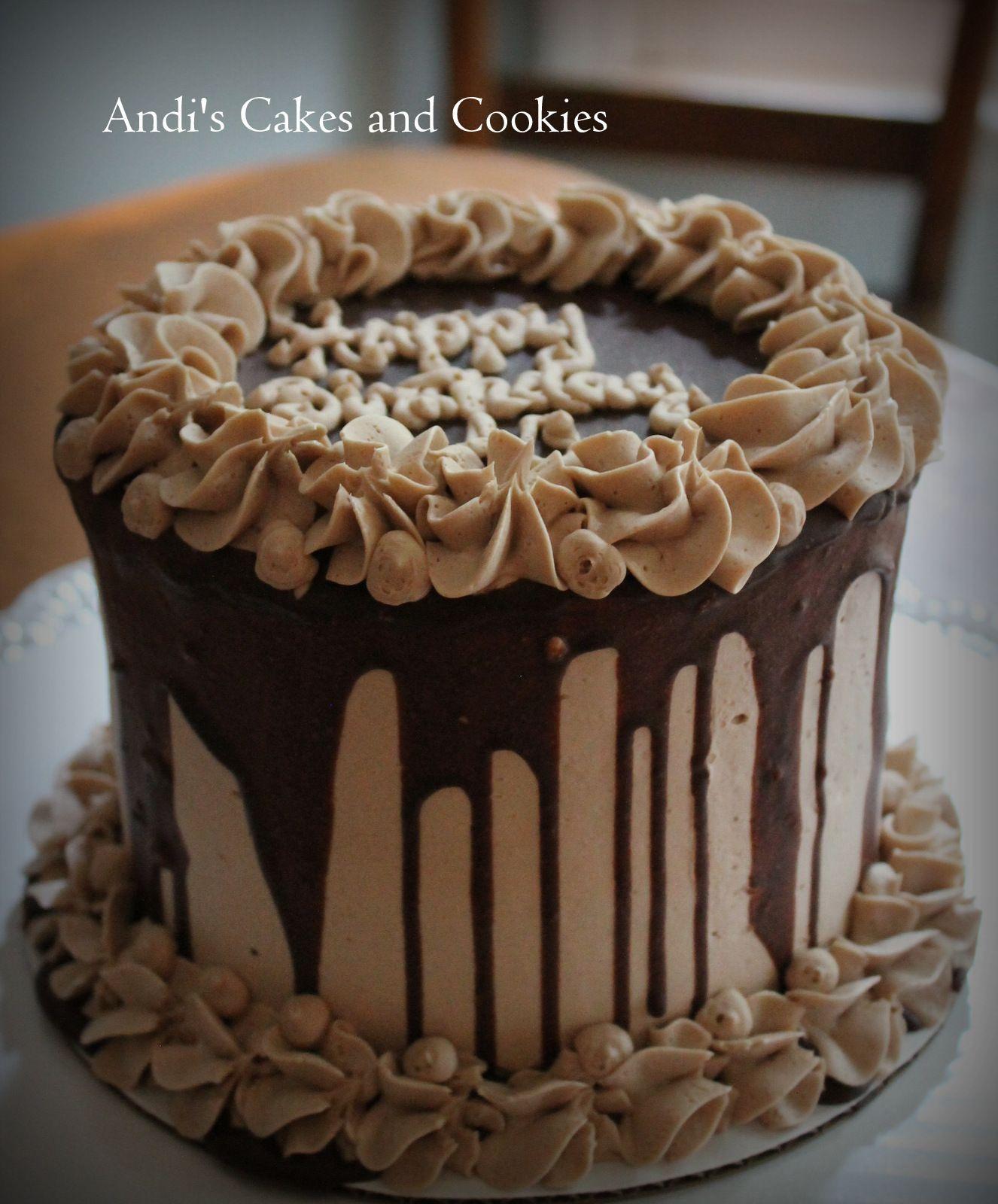 Phenomenal A 6 Dark Chocolate Cake With Dark Chocolate Mousse Chocolate Birthday Cards Printable Giouspongecafe Filternl